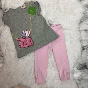 Kate spade baby girl outfit